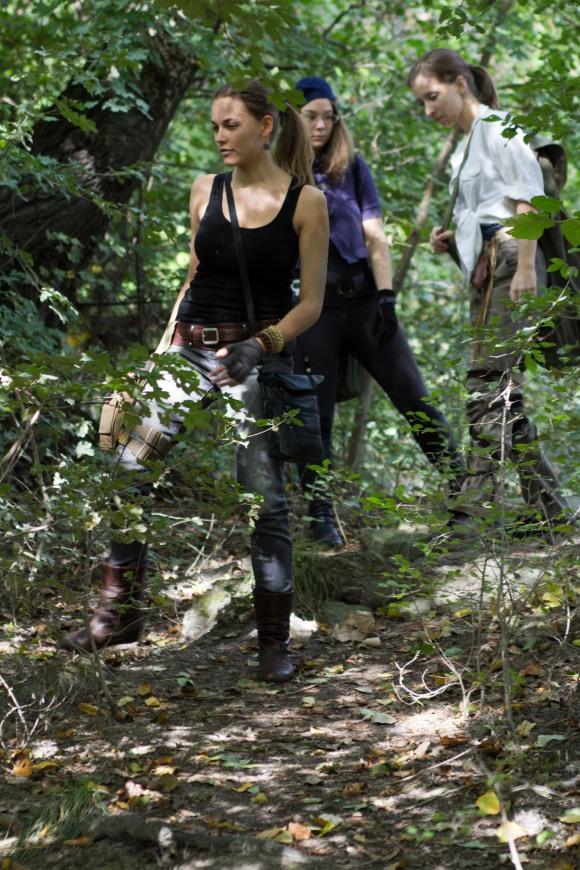 Az erdőben járva